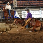 Jake Mueller at the National High School Finals Rodeo